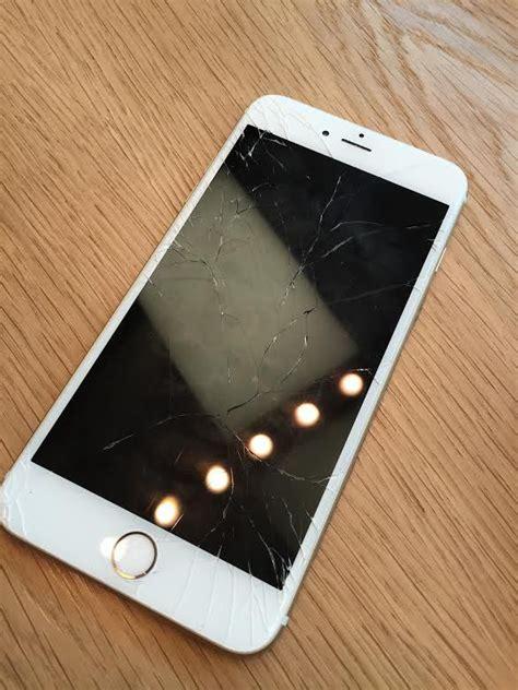 broken iphone ss  screen cnet