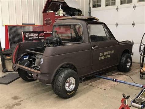 Smallest Size Truck by The Smallest Mini Truck 1972 Honda N600