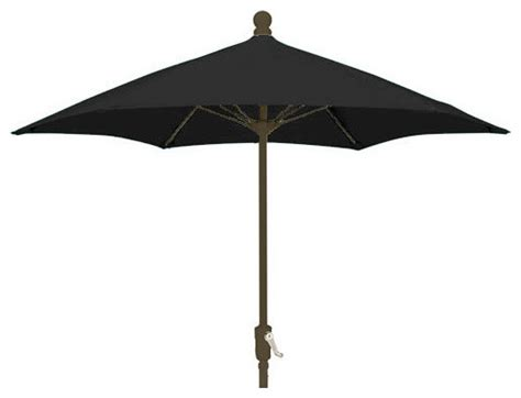 Black Patio Umbrella Black Patio Umbrella Eagle One Sunbrella Patio Umbrella Black 7 5 Foot Hexagonal Black