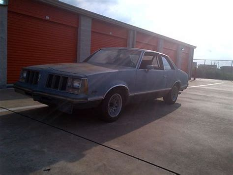 1980 Pontiac Grand Am by Find Used 1980 Pontiac Grand Am Base Coupe 2 Door 4 9l In