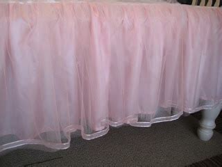 House Happenings Tulle Bed Skirt house happenings tulle bed skirt