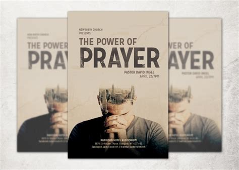 33 Church Flyer Templates Sle Templates Prayer Flyer Template