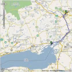 mapa de ontario canada