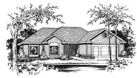 House Plan #120 1056 : 3 Bedroom, 2100 Sq Ft Ranch