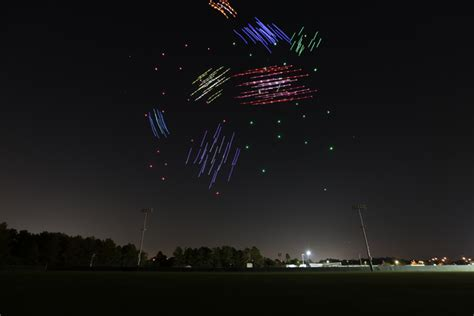 drone light show disney springs intel disney light up the sky over walt disney world