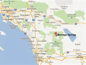 borrego springs california map tidbits about composer george duning