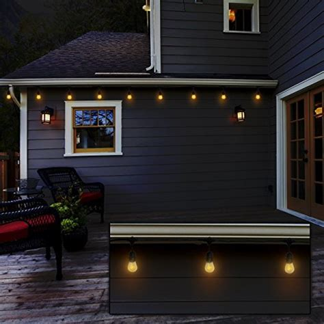 heavy duty outdoor string lights calish 35ft waterproof outdoor string lights heavy duty