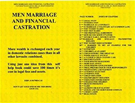 wedding castration men marriage and financial castration kindle edition by