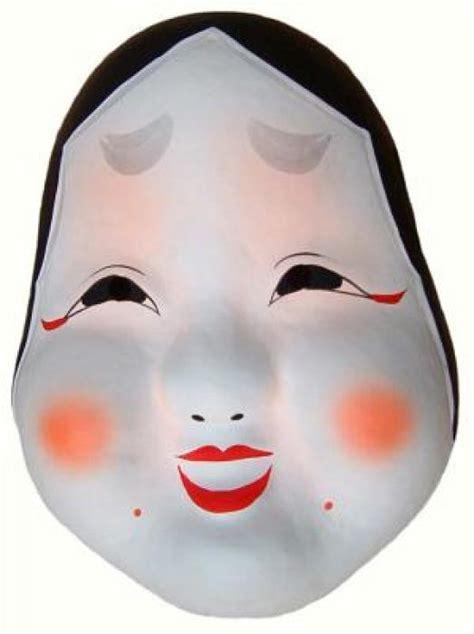 Topeng Smiling japanese masks hannya japan