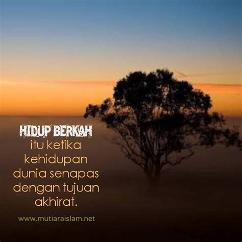 motto hidup islami katapos