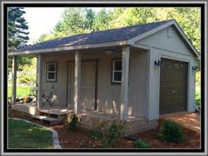 Shed With Porch Plans pin 16 x 20 cottage shed with porch project plans design