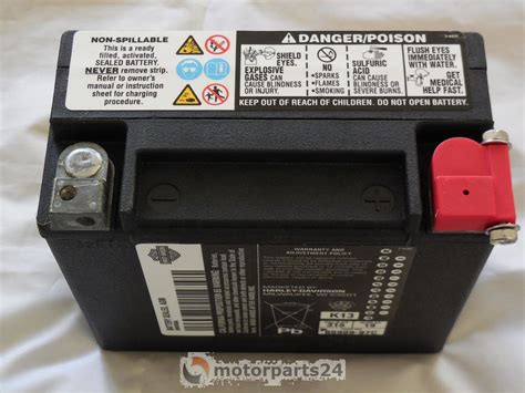 Motorrad Batterie F R Harley Davidson by Harley Davidson Batterie 19 Ah Battery Sealed 19 Ah Dual