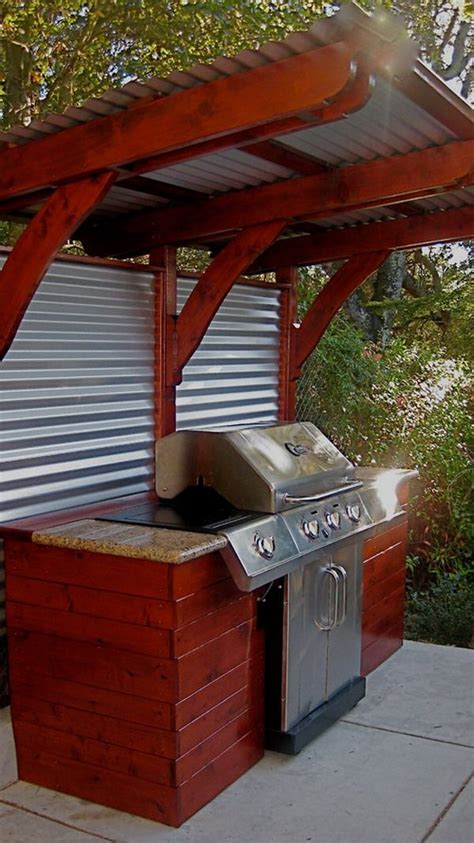 17 best ideas about outdoor barbeque area on