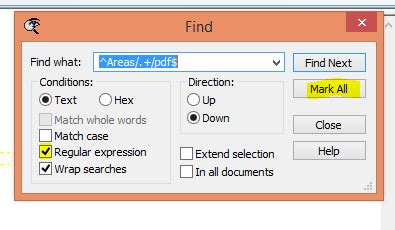 vim regex pattern not found regular expression for find in files in textpad
