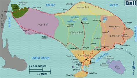 map of bali bali where to go what to do around the world travels