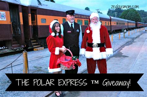 Express Giveaway - the polar express great smoky mountains railroad giveaway zealous mom
