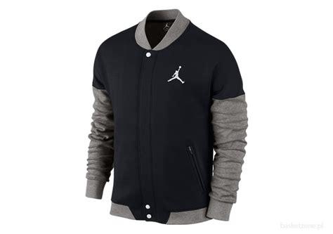 Jordanfa Jaket nike air varsity jacket black