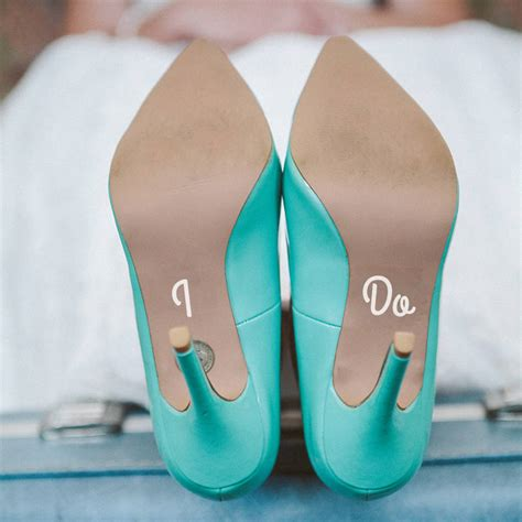 i do slippers i do and me wedding shoe decals by the