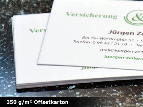 Visitenkarten Naturpapier by Visitenkarten Mit Umwelt Naturpapier Drucken Schnell