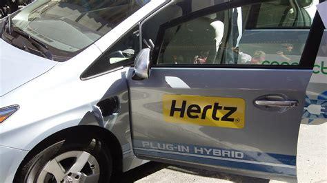 Car Rental Types Hertz by Hertz Rental Car Fleet Gets Greener With Higher Average