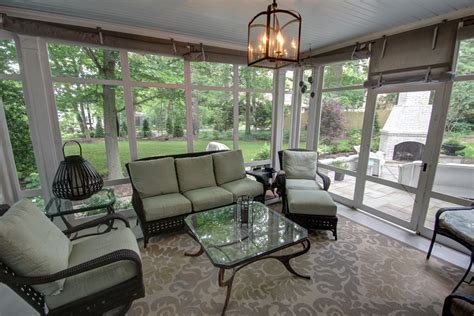 screened in patio ta the summer living room 10 airy
