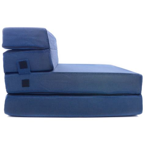 Foam Folding Sofa Bed by Tri Fold Foam Folding Mattress Sofa Bed Dudeiwantthat