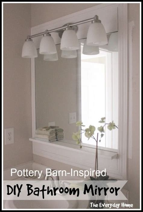 pottery barn bathroom mirror pinterest the world s catalog of ideas
