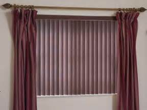 Valances At Jcpenney Door Amp Windows Natural Shades Of The Wood Vertical Blind
