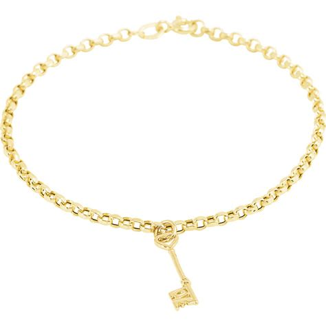 gold charm bracelet chemical elements