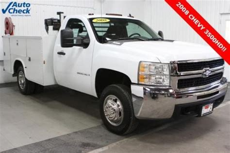auto body repair training 2008 chevrolet silverado 3500 security system purchase used used 08 chevy 3500hd regular cab dual rear wheel utility box air compressor v8 in