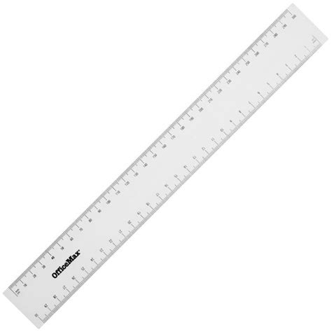 printable school ruler officemax plastic ruler 30cm clear officemax myschool