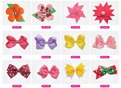 Types Of Hair For Bows sunflower ribbon hairbows custom ribbon hair bows buy
