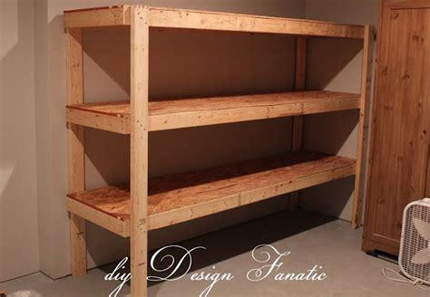 Garage Shelving For Totes Diy Design Fanatic Diy Storage Shelves For