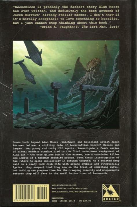 libro alan moores neonomicon avatar alan moore s neonomicon tp hc tp on collectorz com core comics