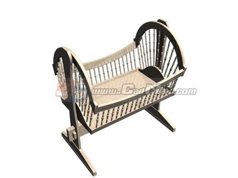 baby swing cradle bed baby swing crib cradle 3d model 3dmax files free download