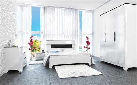 Schlafzimmer Shop by Komplett Schlafzimmer Mit Kleiderschrank Schwarz Wei 223