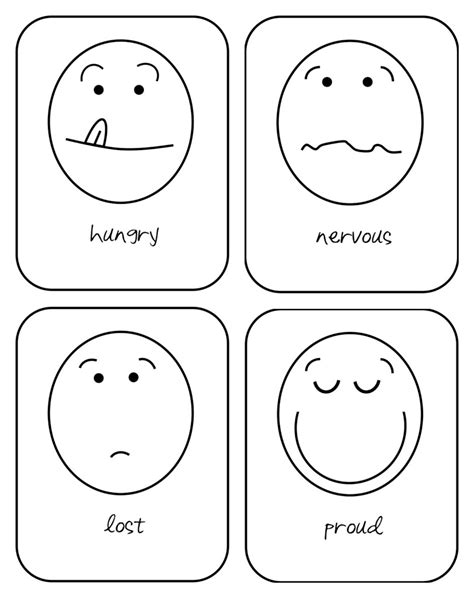 printable emotion flashcards for toddlers emotion cards related keywords suggestions emotion
