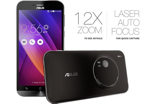 asus、光学3倍ズーム搭載のandroidスマホ「zenfone zoom」発表【ces 2015】 | オクトバ