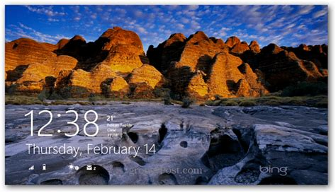 wallpaper engine lock screen make bing images your windows 8 lock screen background