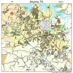 smyrna tennessee map 4769420