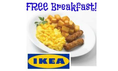 ikea breakfast ikea free breakfast on columbus day southern savers