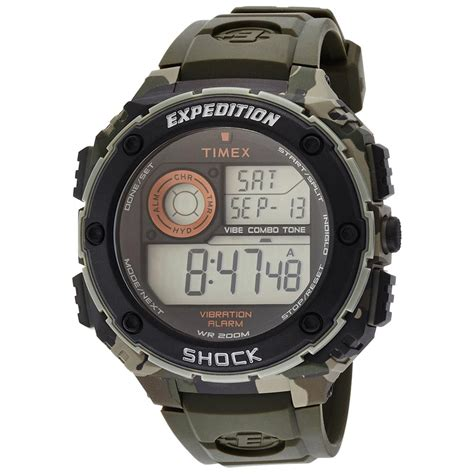 Shock Expedition Uhr Herren Timex Expedition Vibe Shock T49981 Chrono