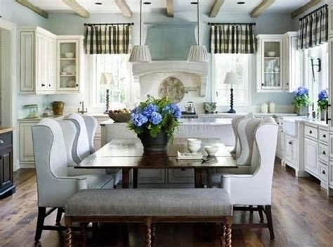 Dining Room Eat In Kitchen Kitchen Dining Rooms Open Concept And Classic Chic On