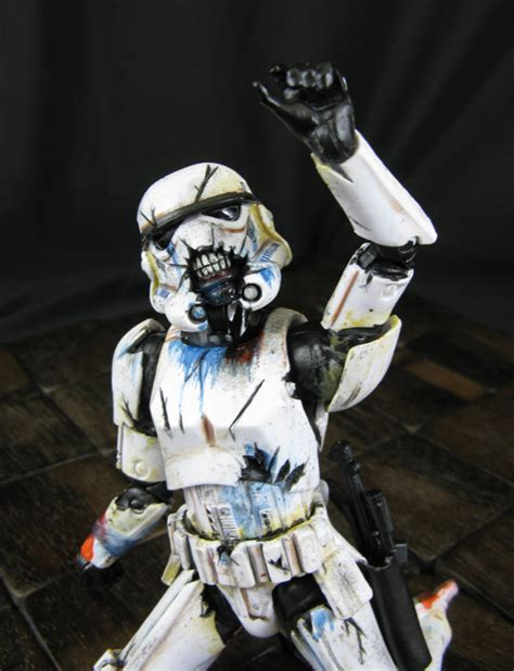 undead and uneasy series 6 custom wars trooper 6 quot black series undead