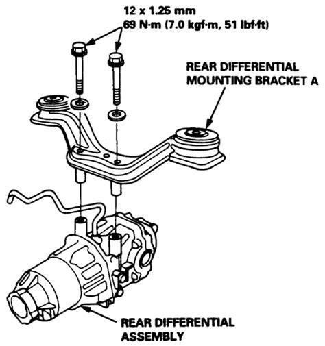 Crv Rd1 99 Rear Lower 2points 2004 ford focus 2 0l fi sohc 4cyl repair guides rear