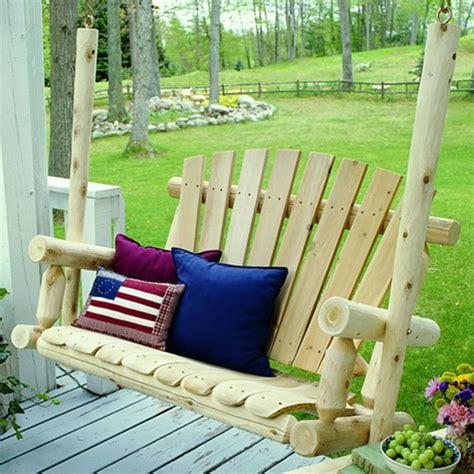 cedar log swings cedar log porch swing cf1123 free shipping