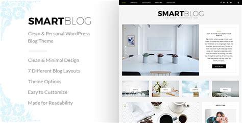blog theme smartblog smartblog clean personal wordpress blog theme