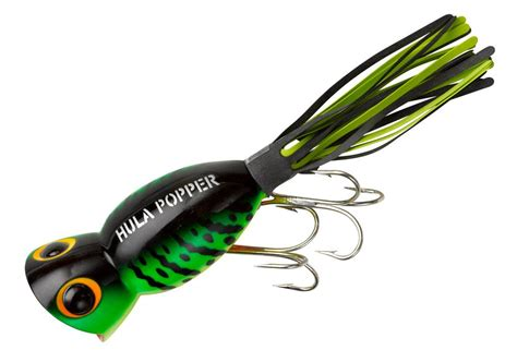 Lure Light Popper 4 1 4 oz arbogast hula poppers topwater bass fishing