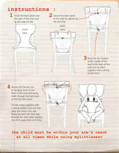 my seat compact travel fabric high chair