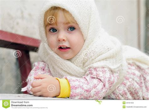 small beautiful pics portrait of the small beautiful girl stock photos image